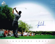 Tiger Woods Autograph Signed Photo